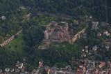 Luftbild Schloss Heidelberg