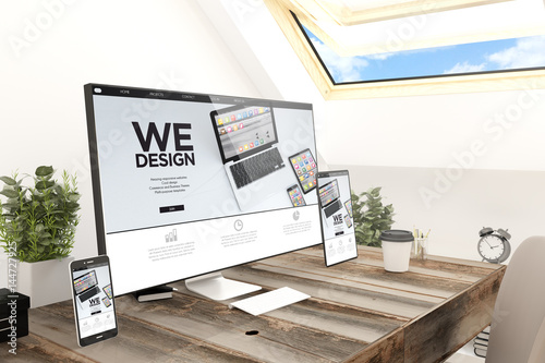 Poster attic devices we design
