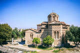 Church in the Ancient Agora of Athens, Greece
