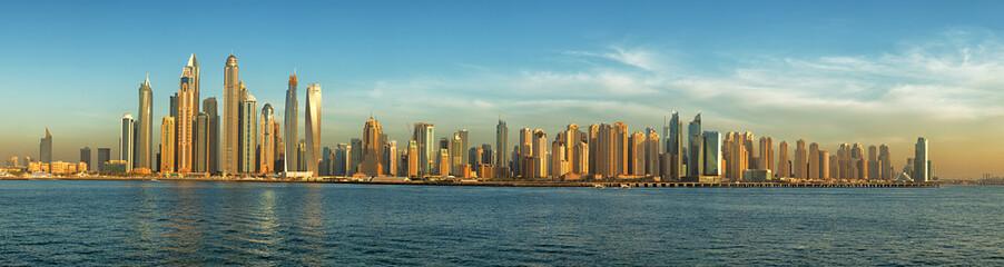 Dubai panorama skyline 1