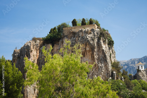 El Castell de Guadalest or briefly Guadalest is a Valencian town and municipalit Poster