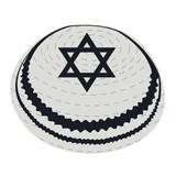 Isolated jewish kippa on a white background, Vector illustration - 144768362