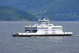 Ferry in British Columbia, Canada
