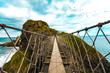 Carrick-a-Rede Rope Bridge (On Bridge) - 144775169