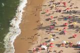 Praia Vermelha beach from above, Rio de Janeiro