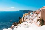 Santorini Blue Roofs