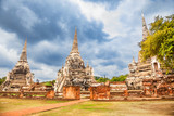 Wat Phra Si Sanphet, Ayutthaya Historical Park, Phra Nakhon Si, Thailand
