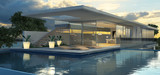 Moderne Villa mit Schwimmecken  - 144808168