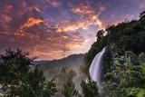 Beautiful Sunrise in Angel Waterfall