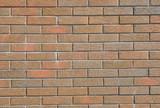 Brick wall textured background. Dark clay brick wall texture background.