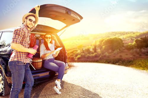 summer car trip  - 144860755