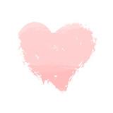 Watercolor Heart Icon - 144874160