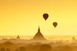 Land of a thousand pagodas in Bagan, Myanmar