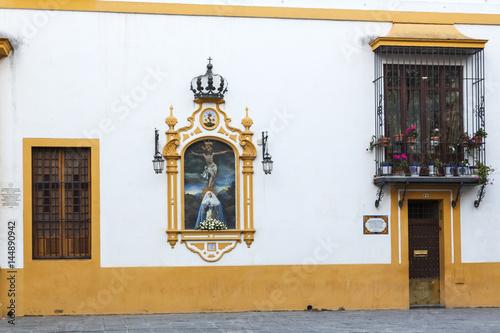Calle típica de Sevilla