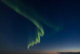 Aurora Borealis over the Barent Sea
