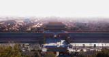 Panoramic scene at the Forbidden City, Beijing, China
