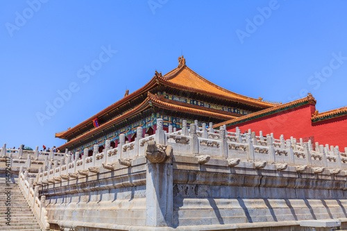 The Hall of Supreme Harmony side view Poster