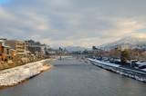 京都 冬の鴨川