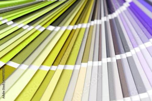 Poster Color swatches full frame background to choice a color