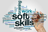 Soft skills word cloud - 144988138