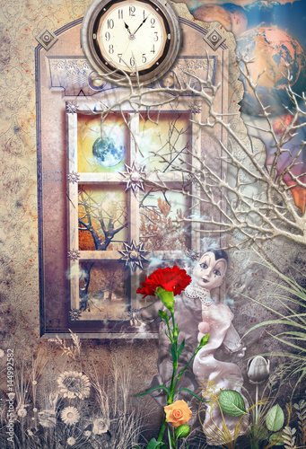 Staande foto Imagination Wonderland-Alice and through the looking-glass series