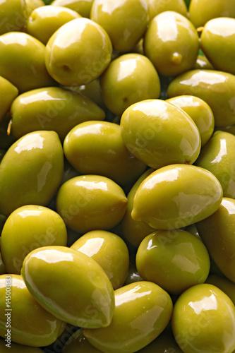 Olives. Fresh olives full-frame close-up