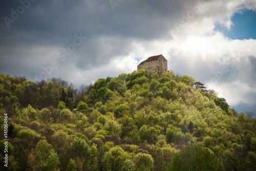 Burg Seebenstein, Niederösterreich, Seitenansicht Poster