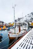 The fishing boat, Lofotens