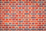 Red victorian brick wall background