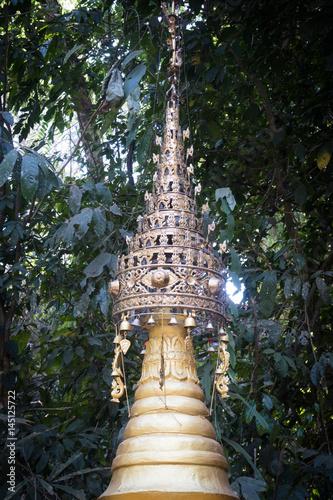 Poster Pagoda,Bagan, Myanmar
