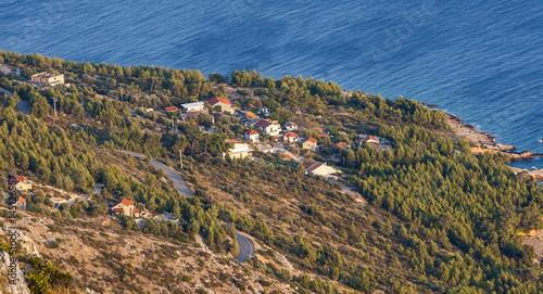 Aluminium Sveti Nikola highest peak on the island of Hvar