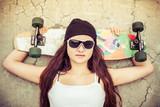 Pretty Skater Girl