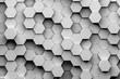 hexagon backgrounds 3d illustration - 145189959