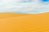 yellow desert dune sky
