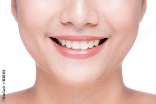 Whitening tooth.