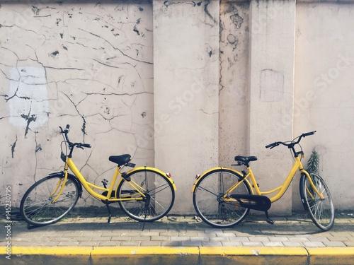 Zdjęcia na płótnie, fototapety, obrazy : rentable eco city bikes