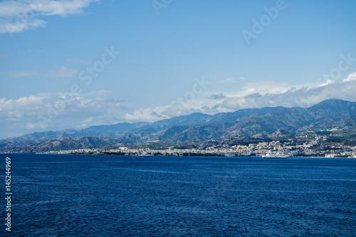 Deurstickers Toscane SICILY BY THE SEA
