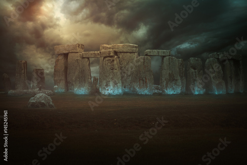 Magical stones of Stonehenge
