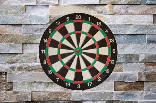 Dartboard with background Plakát