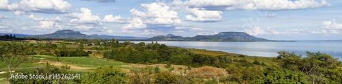 Nice panorama landscape from Hungary (Lake Balaton) Poster