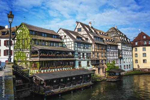 Plagát Petite France district, Strasbourg, Alsace, France