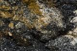 Rusty brown white black stone texture