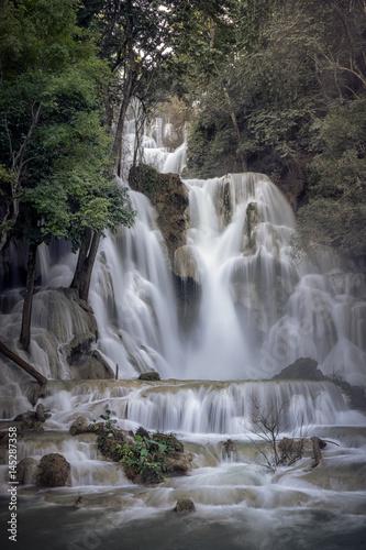 Laos waterfall - 145287358