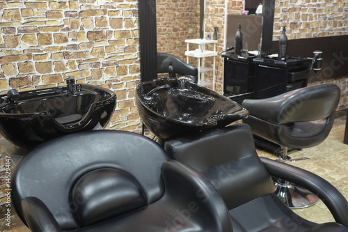 Interior of a Hairdressing Salon