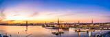 Ausblick über Stockholm von Monteliusvagen
