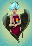 Robin Redbreast helps to heal the wounds in the heart
