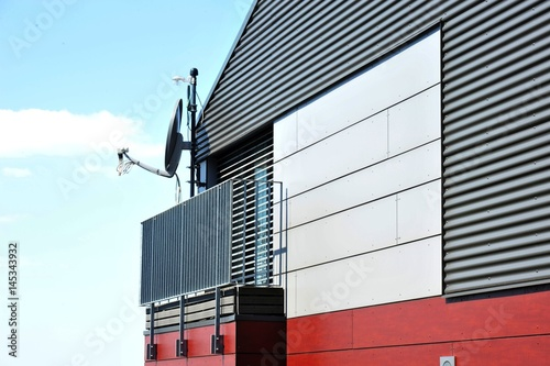 Fassade eines modernen Gebäudes
