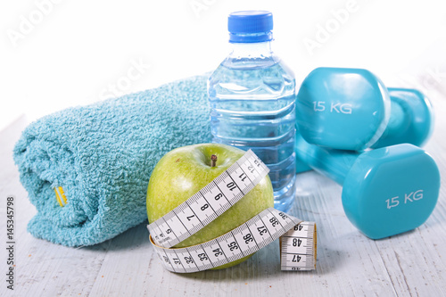 fitness,healthy eating concept