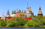 Izmailovo Kremlin in Moscow.
