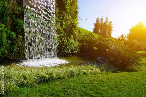 Waterfall on a sun - 145359582
